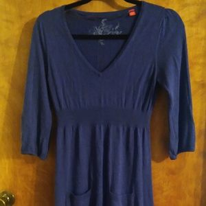Esprit navy sweater dress